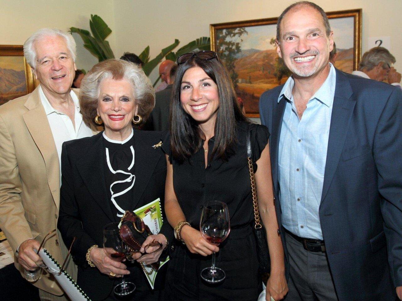 Bill and Connie McNally, Dani Blasema, Kurt Blasema