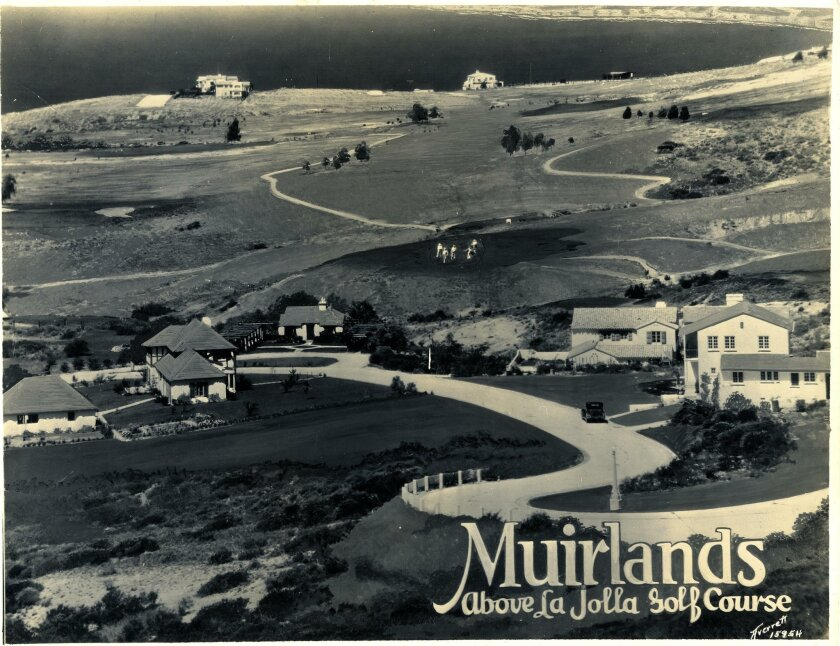 Muirlands sales photo from the 1920s