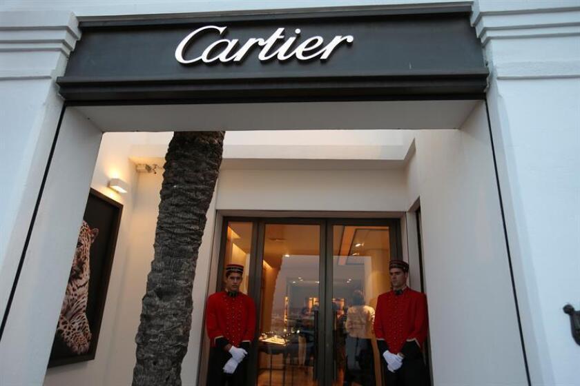 Vista de la tienda de la firma Cartier en Marbella. EFE/Archivo