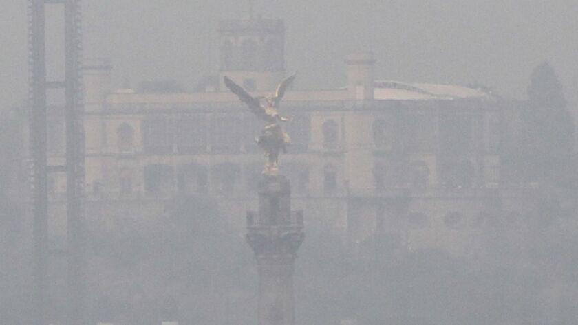 Extraordinary environmental alert activated at Mexico Valley, Mexico City - 15 May 2019