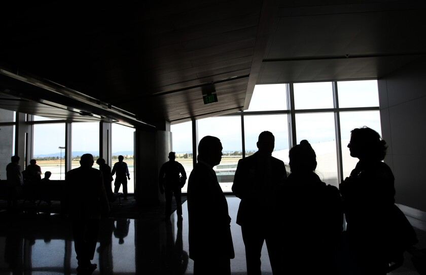 The Tom Bradley International Terminal last year. A federal judge ruled that the U.S. government deprived 13 Muslim Americans of their right to international airline travel by placing them on a no-fly list.
