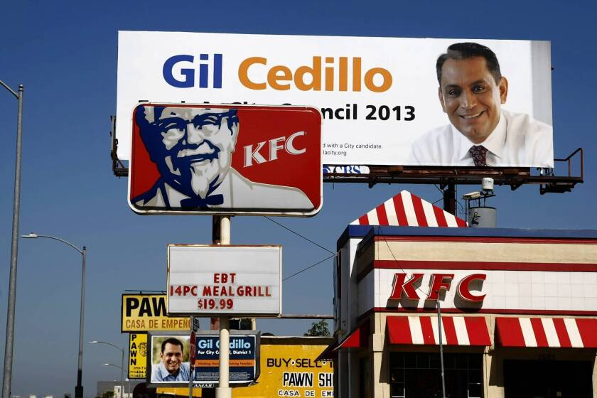 Billboard companies playing big role in L.A. city election