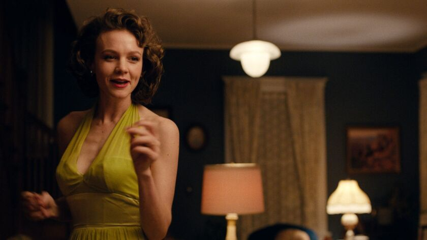 "This image released by IFC Films shows Carey Mulligan in a scene from ""Wildlife."" (IFC Films via AP)"