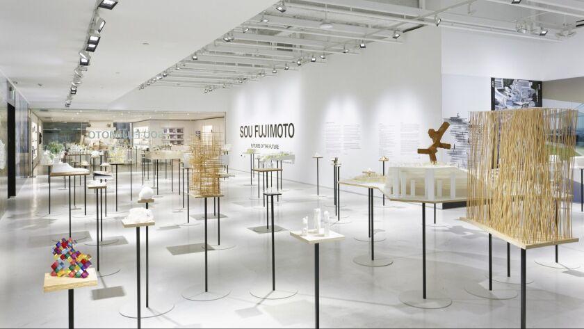Sou Fujimoto: FUTURES OF THE FUTURE exhibitoin at JAPAN HOUSE Los Angeles