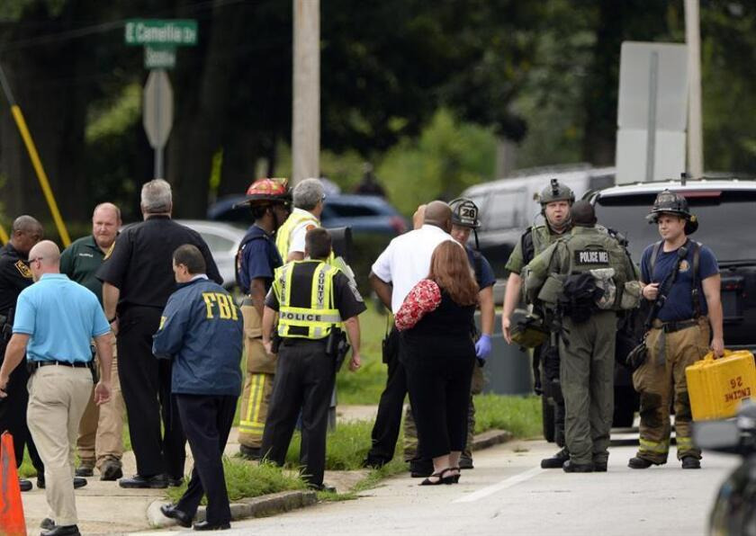 Al menos una persona murió y varias resultaron heridas en un tiroteo registrado hoy en una escuela de secundaria de la localidad de Benton, en Kentucky, informó el gobernador del estado, Matt Bevin. EFE/Archivo