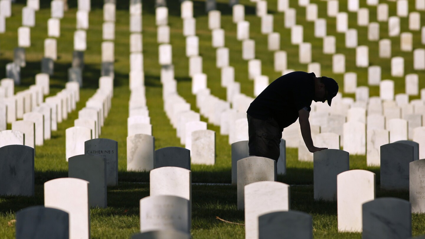 Veterans Day at Los Angeles National Cemetery