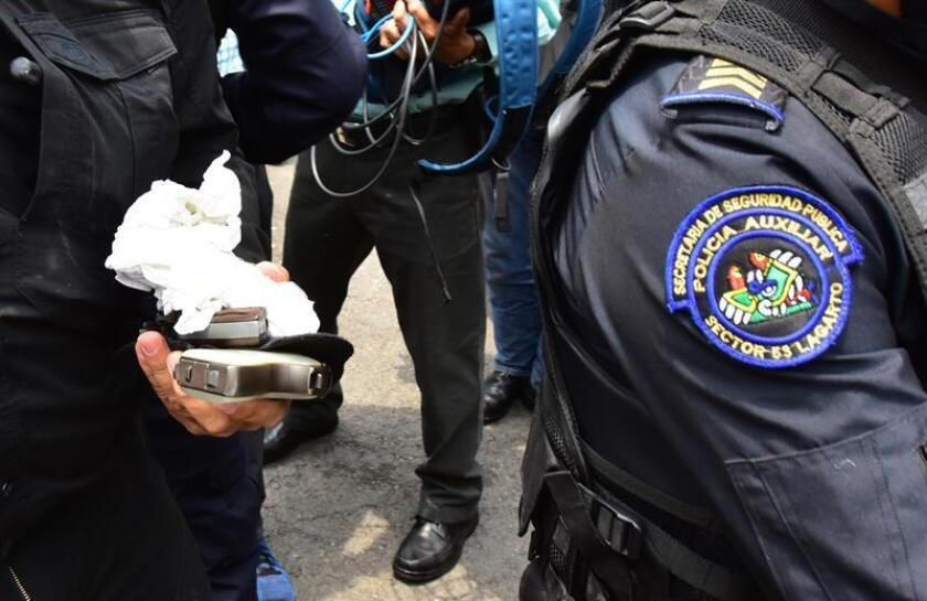 Cuatro hombres murieron y uno más resultó herido en una balacera que se inició tras una discusión anoche en la alcaldía de Azcapotzalco, en Ciudad de México, informó hoy la Procuraduría General de Justicia (fiscalía) de la capital. EFE/STR/Archivo