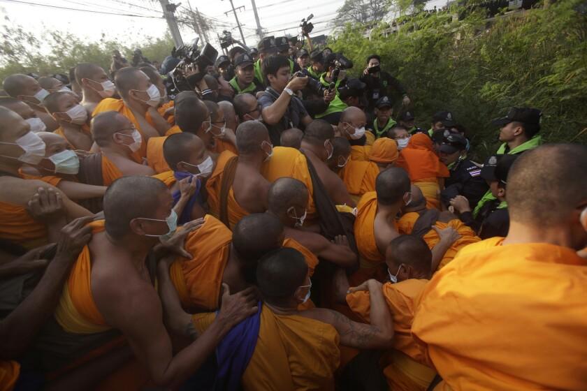 Thailand Buddhist monk