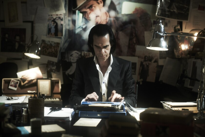 "Nick Cave is ""brilliant at being Nick Cave,"" as a co-director put it, in the film."