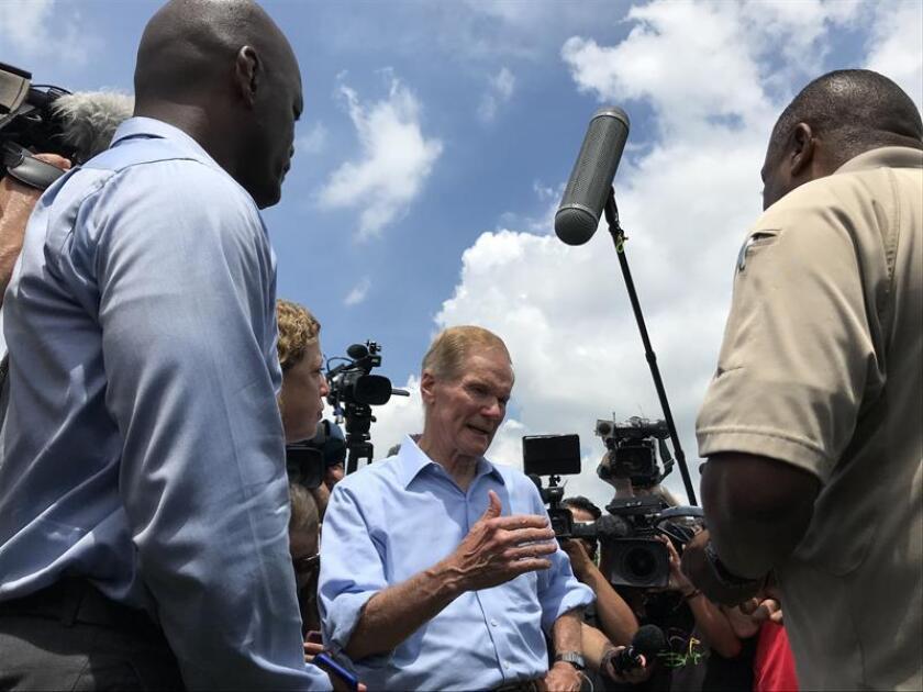 Un grupo de congresistas demócratas se reunieron hoy con familias de desplazadas al centro de Florida tras el paso del huracán María por la isla, y a los que se le extendió la ayuda de vivienda temporal que gestiona la Agencia para el Manejo de Emergencias (FEMA). EFE/ARCHIVO