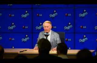 Vin Scully's Final Press Conference Part Two (of Four)