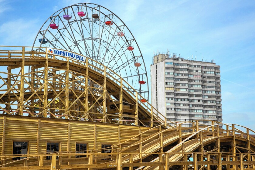 The restored retro rides of Dreamland and the new art in a gallery named for J.M.W. Turner beckon visitors to the recovering coastal resort town of Margate, England.