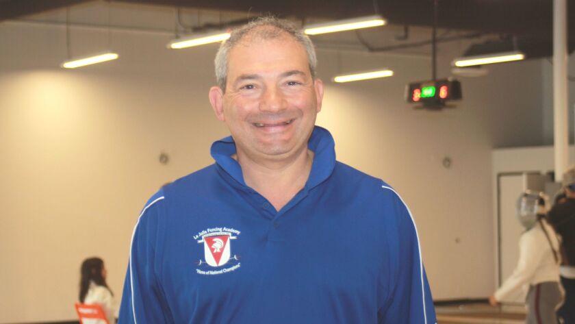 La Jolla Fencing Academy founder and head coach Dmitriy Guy