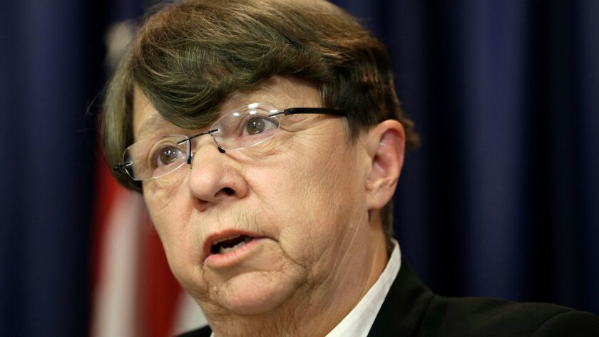 Mary Jo White, who tried beef up the Securities and Exchange Commission's enforcement efforts over the last three years, plans to step down as its chief at the end of the Obama administration.