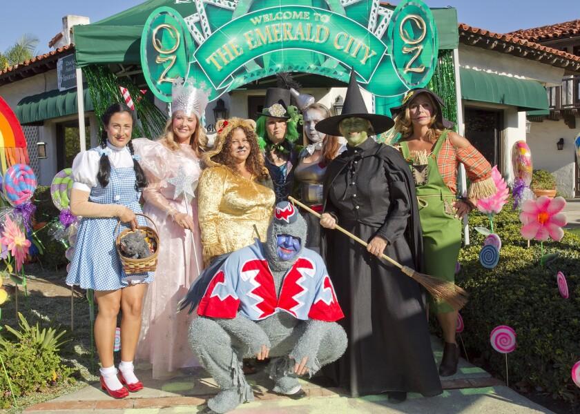 Rancho Santa Fe Insurance got into the Halloween spirit last year.