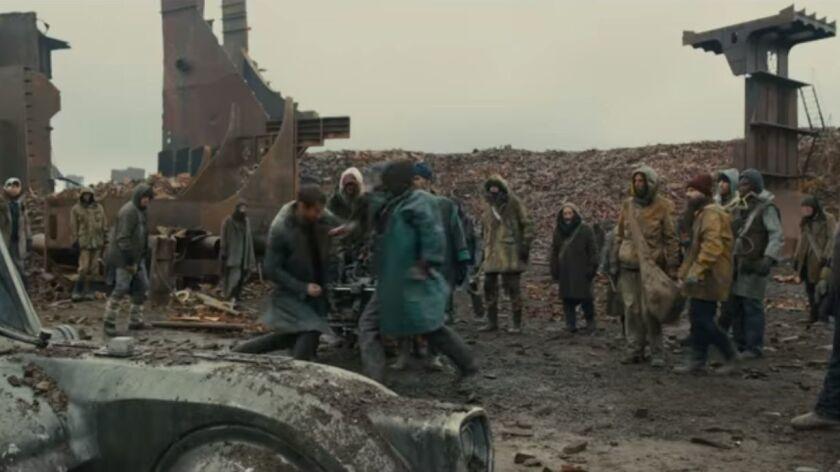"In ""Blade Runner 2049,"" the character K (Ryan Gosling) meets San Diegans of the future."
