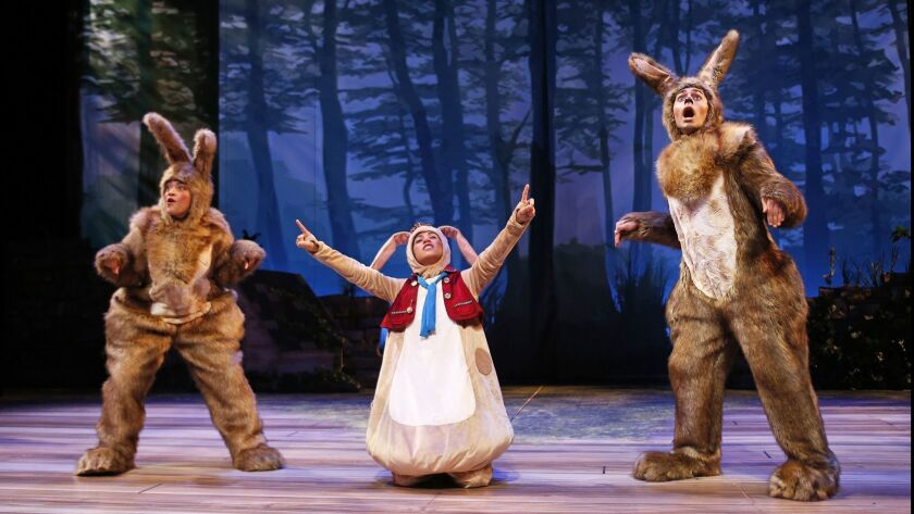 "South Coast Repertory presents the Theatre for Young Audiences production of ""The Velveteen Rabbit"