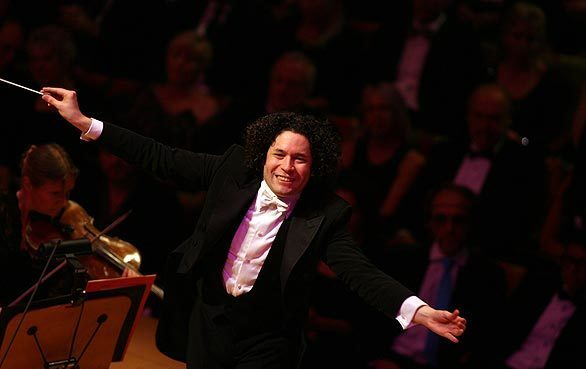 Here it is, a year later already. Gustavo Dudamel is one season into his position as music director of the Los Angeles Philharmonic, so Thursday night, as the season began, he lifted the baton on his second opening gala. His program at Walt Disney Concert Hall embraced Peruvian, Venezuelan and Mexican composers, as well as music by Rossini, a specialty of the concert's soloist, Peruvian tenor Juan Diego Florez.