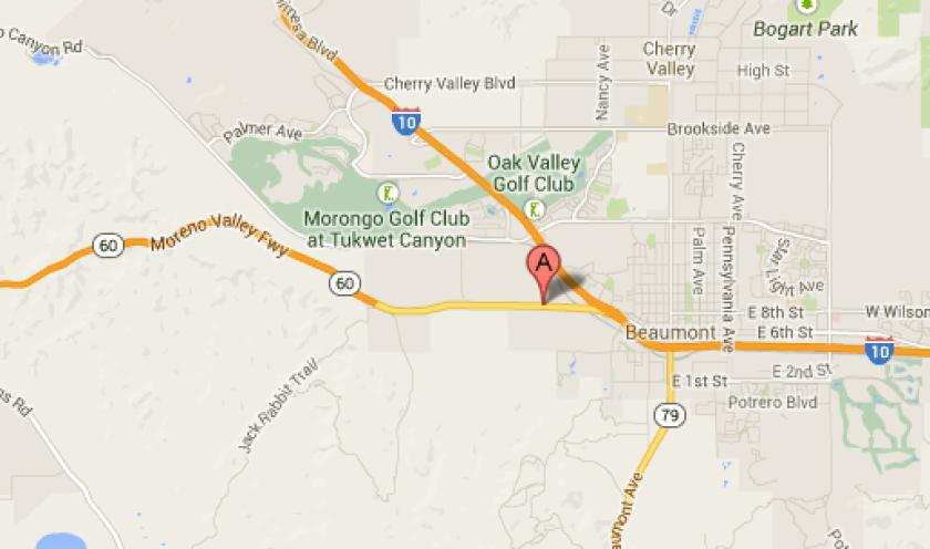2 dead, 1 injured in car crash on 60 Freeway in Riverside County