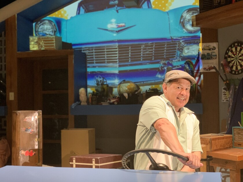 """Ric Salinas stars in San Diego Repertory Theatre's filmed production of the solo play """"57 Chevy."""""""