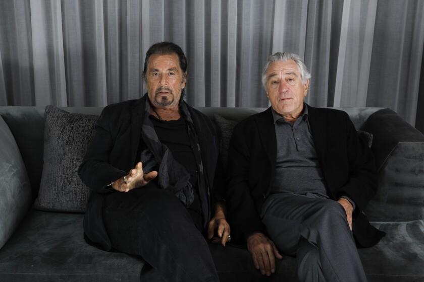 Robert De Niro and Al Pacino have been friends for decades.
