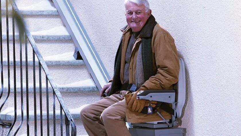 Carlsbad's Access to Freedom sells several types of mechanical chair lifts that can transport people