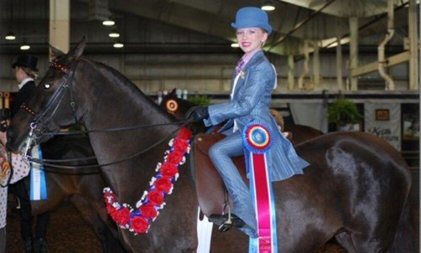 World Champion Katie Myron