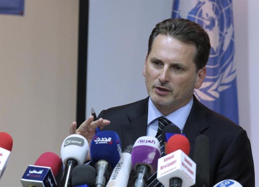 La agencia de la ONU para los refugiados palestinos (UNRWA) aseguró hoy que por el momento EE.UU. no le ha solicitado ninguna reforma concreta tras congelar buena parte de sus contribuciones financieras. EFE/Archivo