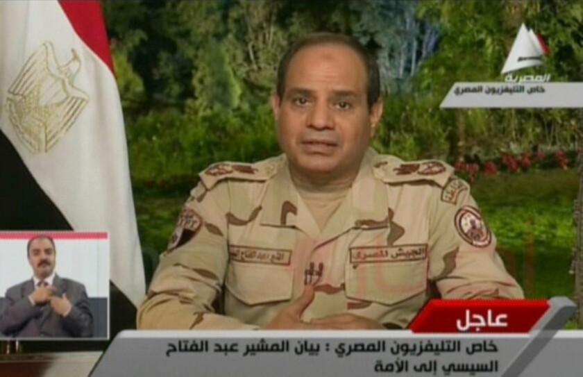 Egypt Sisi presidency