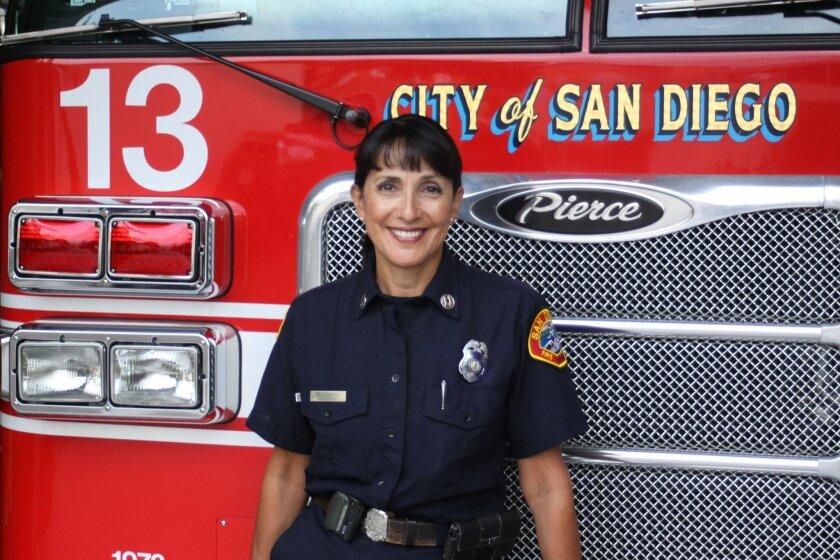 Maria Cabrera is the A Division captain at La Jolla's Station 13.