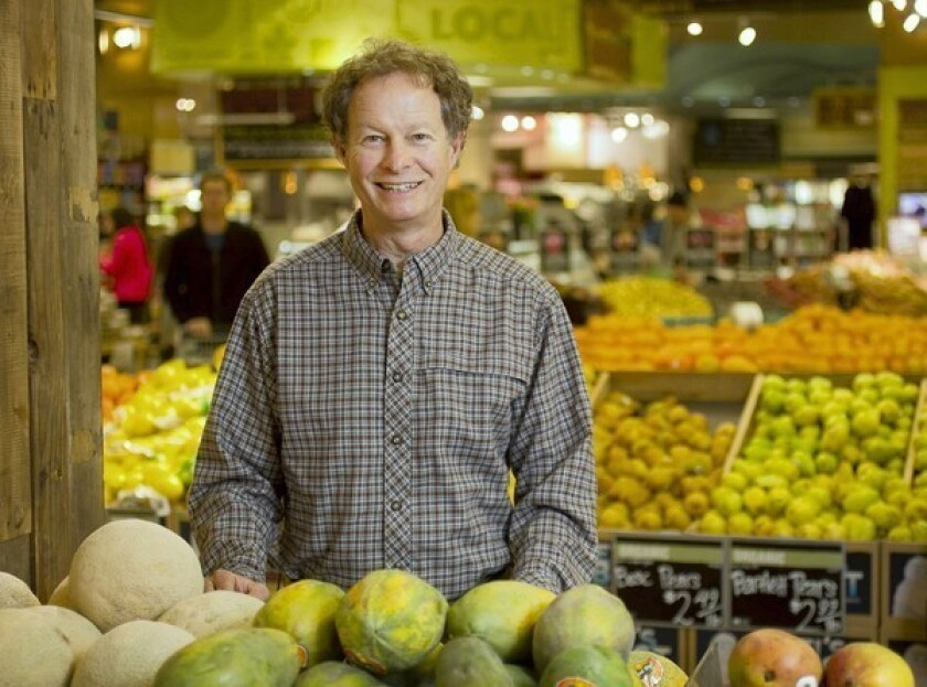John Mackey, founder and co-CEO of Whole Foods Markets, which will require labeling of all genetically modified products by 2018.