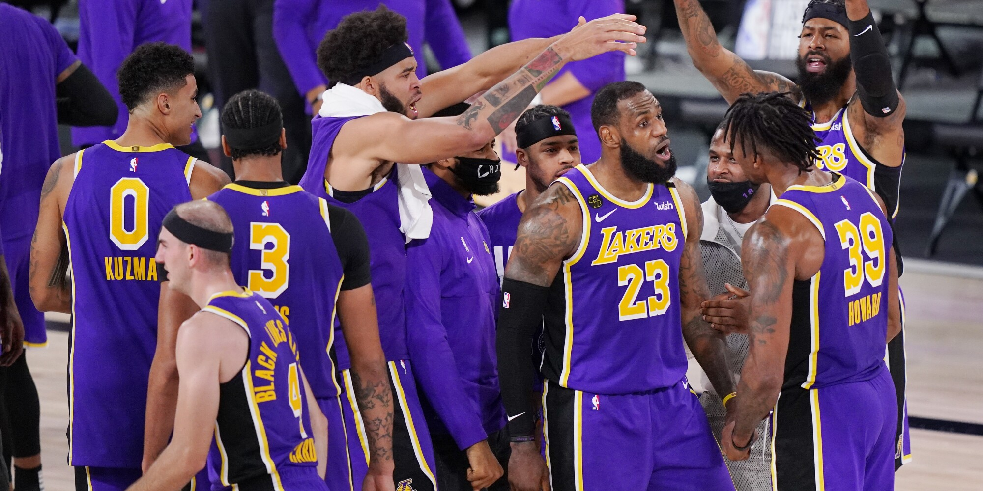 Lakers Defeat Nuggets To Advance To The Nba Finals Los Angeles Times