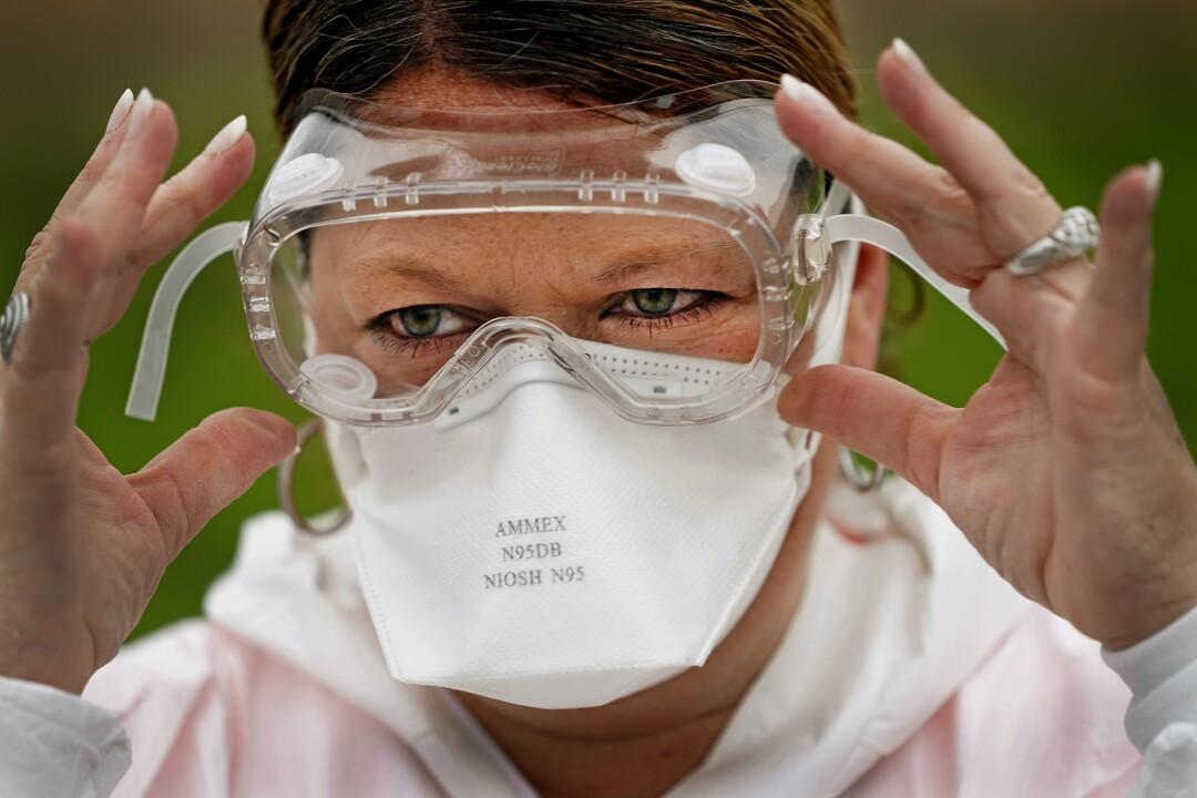 Nurse Yvette Laugere