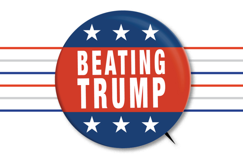 Beating Trump: A L.A. Times editorial series - cover