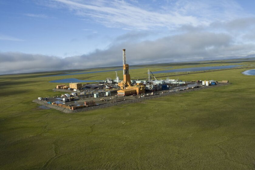 ConocoPhillips already is drilling onshore in the Alaskan Arctic at its Alpine field.