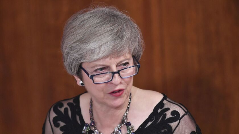 British Prime Minister Theresa May and a divided Cabinet are expected to hold a special meeting Wednesday on the proposed conditions for the country's exit from the 28-nation European Union.