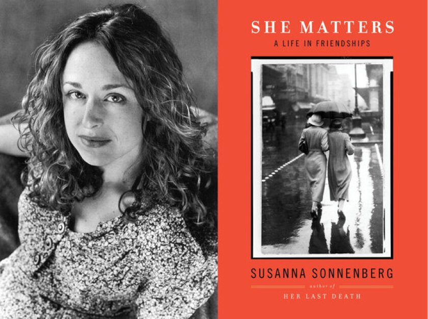 "Susanna Sonnenberg talks about ""She Matters,"" out Jan. 8."