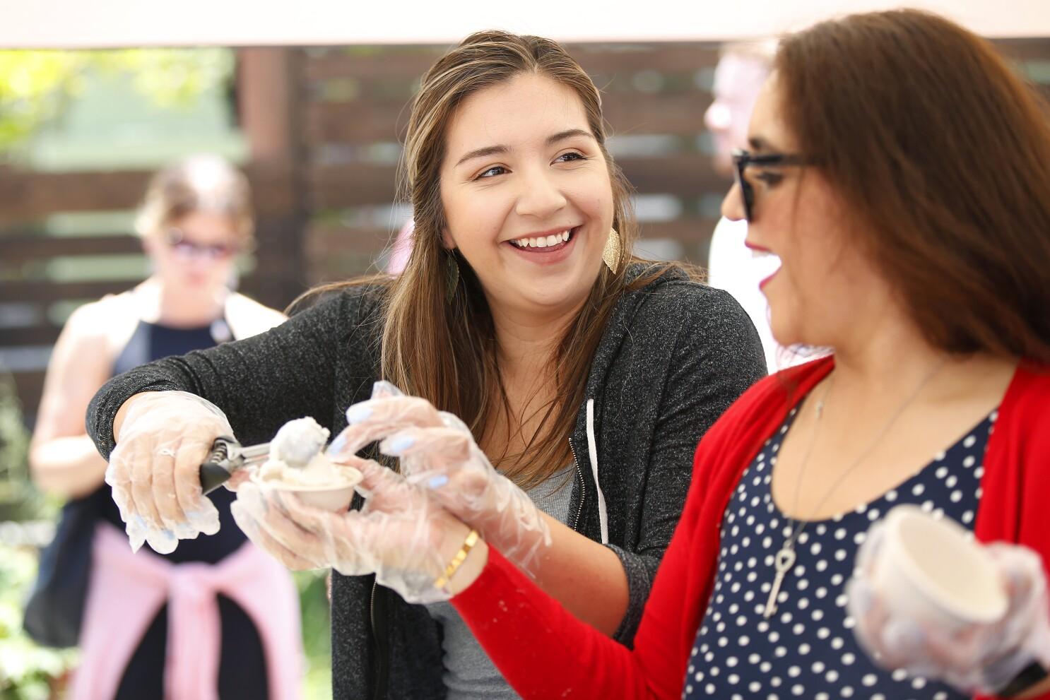 72b5addb Scoop San Diego ice cream festival raises money for the Monarch ...