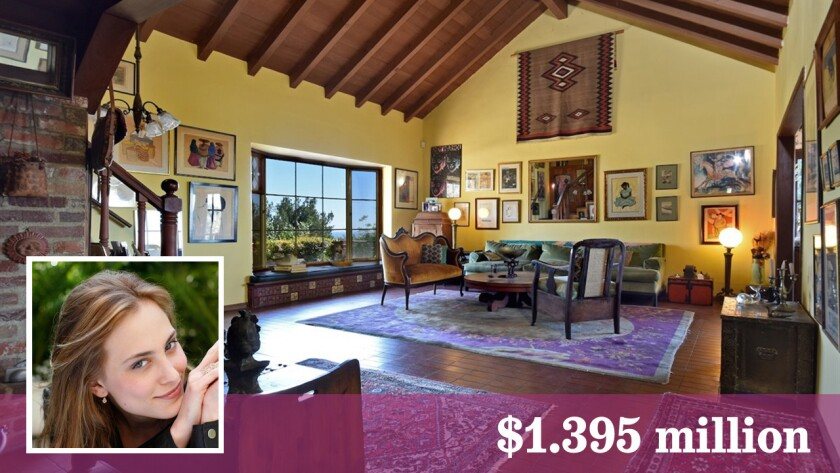 Actress Nora Arnezeder has bought a house in the Hollywood Hills for $1.395 million.