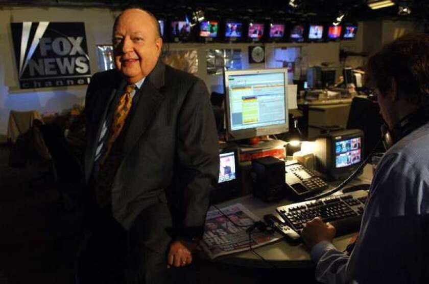Roger Ailes fired back at the Justice Department.