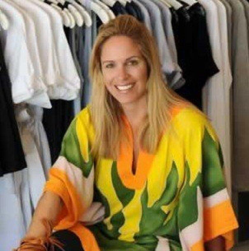 Lauren Turek named her La Jolla clothing store Kerut, which is her surname spelled backwards. COURTESY