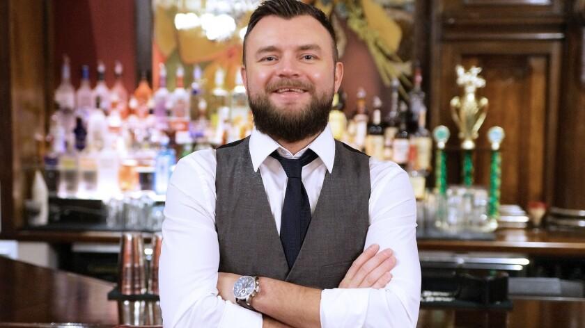 Bartender Paul Walsh