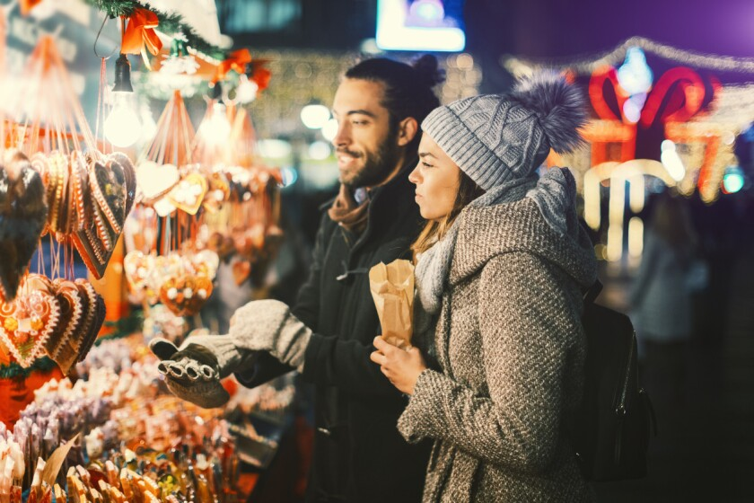 It can be tough navigating the holidays when you've just started dating someone new.