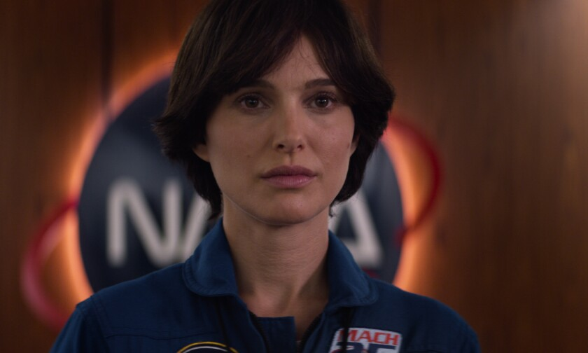 "Natalie Portman stars as an astronaut in the film ""Lucy in the Sky."""