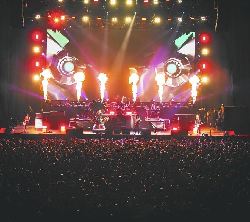 Guns N' Roses plays T-Mobile Arena in Las Vegas