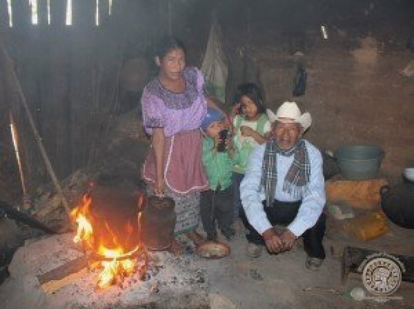 In addition to the health benefits of the foundation's Eko-Stoves, the wood-burning stoves use 70 percent less firewood, which saves families money and time. Courtesy photos