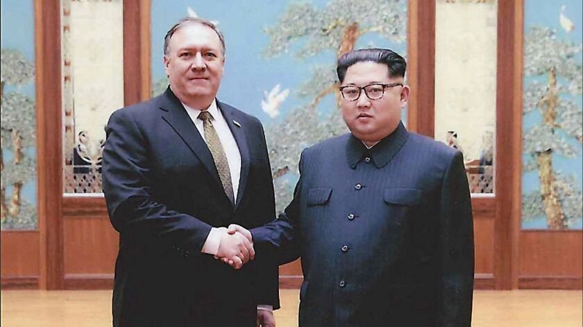 Pompeo Met Secretly With Kim Jong Un