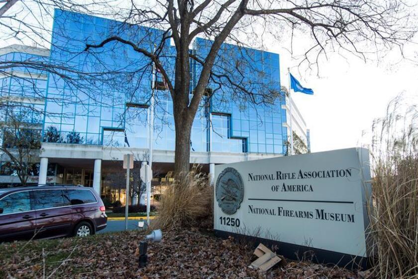 Vista de la sede de la Asociación Nacional del Rifle (NRA) en Fairfax, Virginia, Estados Unidos. EFE/Archivo