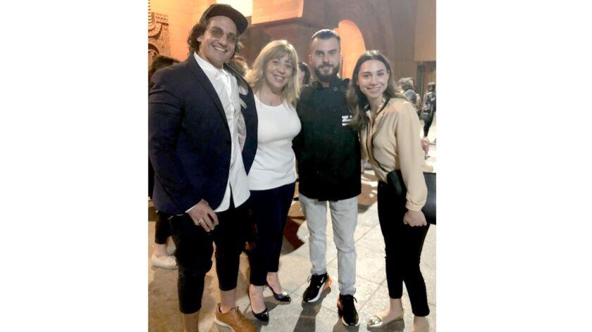 Michael Kay, from left, of Executive Chef Kitchen 1200 & Vertigo Event Venue; Silvana Vartanian, Ner