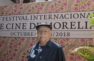 Guillermo Munro, 77, en la exhibición de Sonora en el Festival de Cine de Morelia en 2018